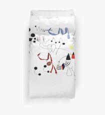 Joan Miro Frau, die von Entweichen-T-Shirt, 1945-Grafik träumt Bettbezug