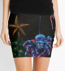 Christmas Spiders Mini Skirt