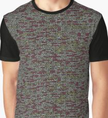 Developer's Terminal Pattern Graphic T-Shirt
