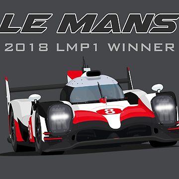 Le Mans Legend #8 - 2018 by MD-Colors