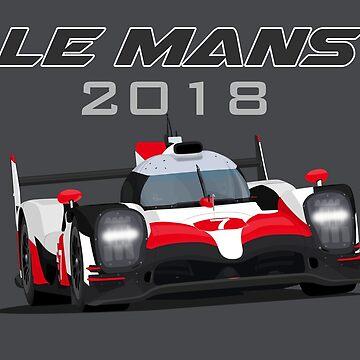 Le Mans Legend #7 - 2018 by MD-Colors
