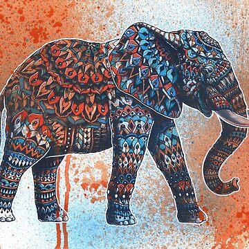 Tangerine Sky Elephant de BioWorkZ
