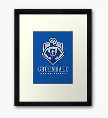 Greendale Human Beings Framed Print