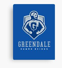 Greendale Human Beings Canvas Print
