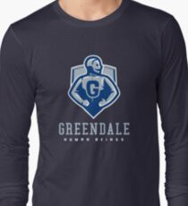 Greendale Human Beings Long Sleeve T-Shirt