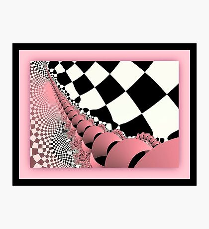 Checkers the Mouse Mechanical Tail Photographic Print