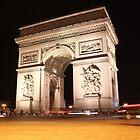 Arc de Triomphe by Elena Skvortsova