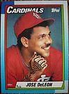 414 - Jose DeLeon by Foob's Baseball Cards