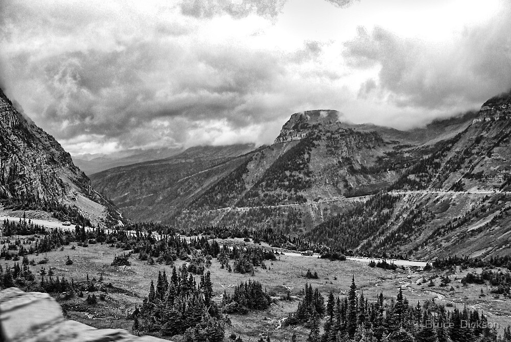 Glacier National Park 2 by Bruce  Dickson