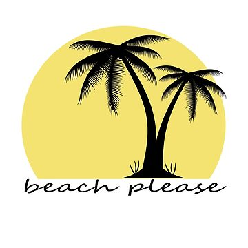 Beach Please by TMdraws