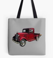 Old Red Truck 1930's Tote Bag