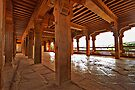 Shaniwar Wada - Pillars of wood #1 by Prasad