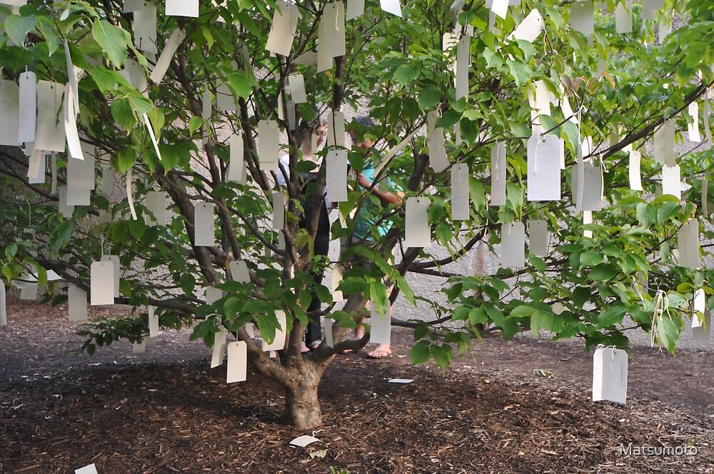 The Wishing Tree by Yoko Ono by Matsumoto