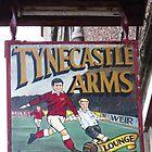Tynecastle Arms Pub Sign, Edinburgh by wiggyofipswich