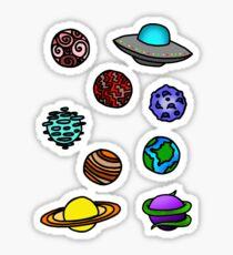 Space Sticker Pack Sticker