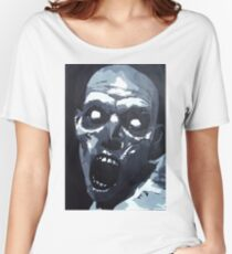 Hungry Zombie- Abstract Zombie Painting Women's Relaxed Fit T-Shirt