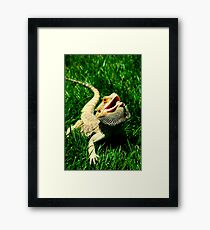 Modern Dragon Framed Print