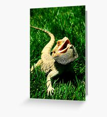 Modern Dragon Greeting Card