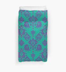 Lavender Vintage Damask Pattern Duvet Cover