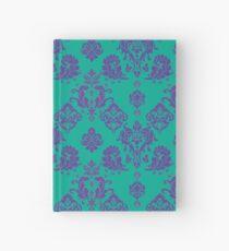 Lavender Vintage Damask Pattern Hardcover Journal
