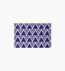 Blue pattern Art Board