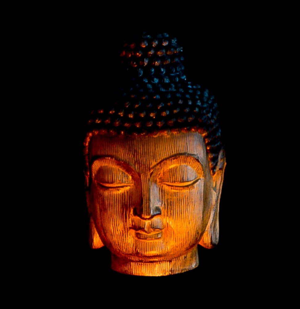 Enlightened One - A Buddhist Figure by Jacqueline Cooper