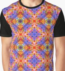 abstract colorful artwork seamless repeat pattern Graphic T-Shirt