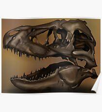 T. Rex Skull Poster