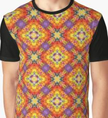 artwork art color abstract seamless colorful repeat pattern Graphic T-Shirt