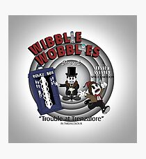 Wibblie Wobblies - Trouble at Trenzalore Photographic Print