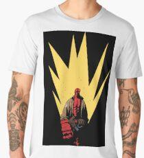hellboy portrait Men's Premium T-Shirt