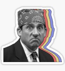 Prison Mike Layered Sticker