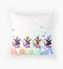Imagination is best, when it is set free... Throw Pillow