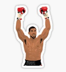 Anthony Joshua Sticker