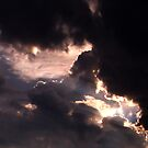 The Light Through Stormy Clouds by Daneann