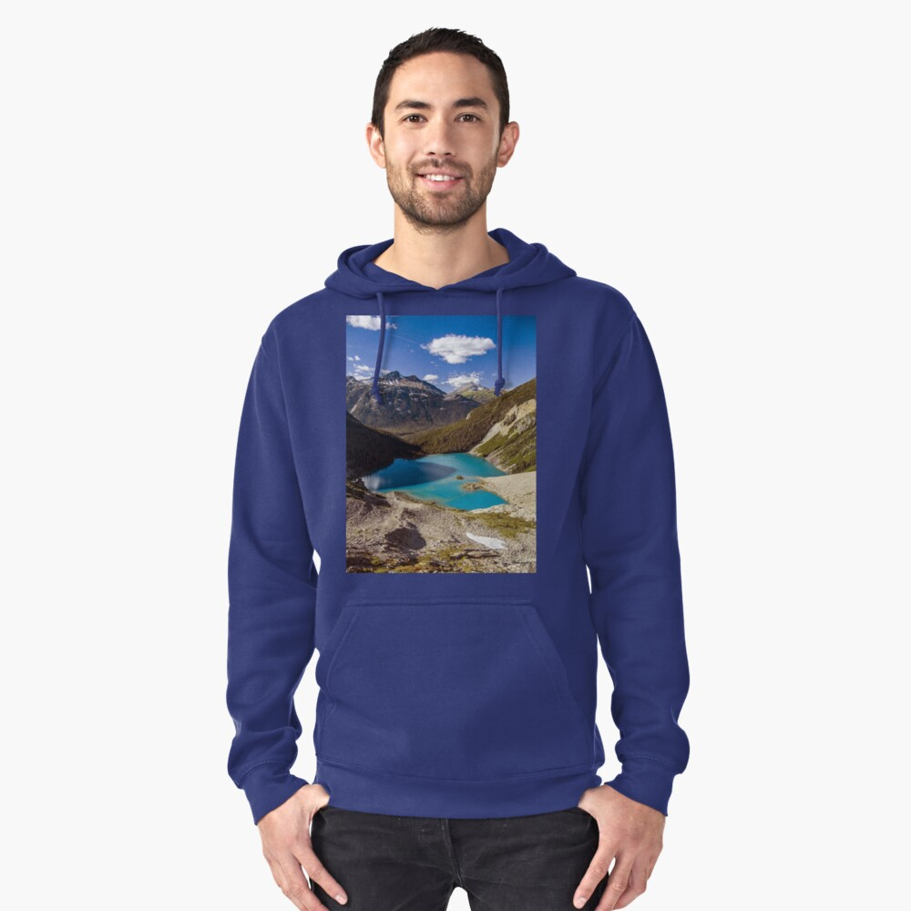 Autumn - Upper Joffre Lake, Joffre Lake Provincial Park, British Columbia, Canada Pullover Hoodie Front