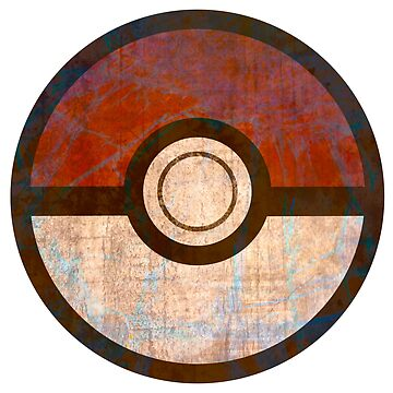 Distressed Pokeball by snidget
