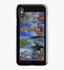 Muppets Haunted Mansion Stretching Room Portraits iPhone Case