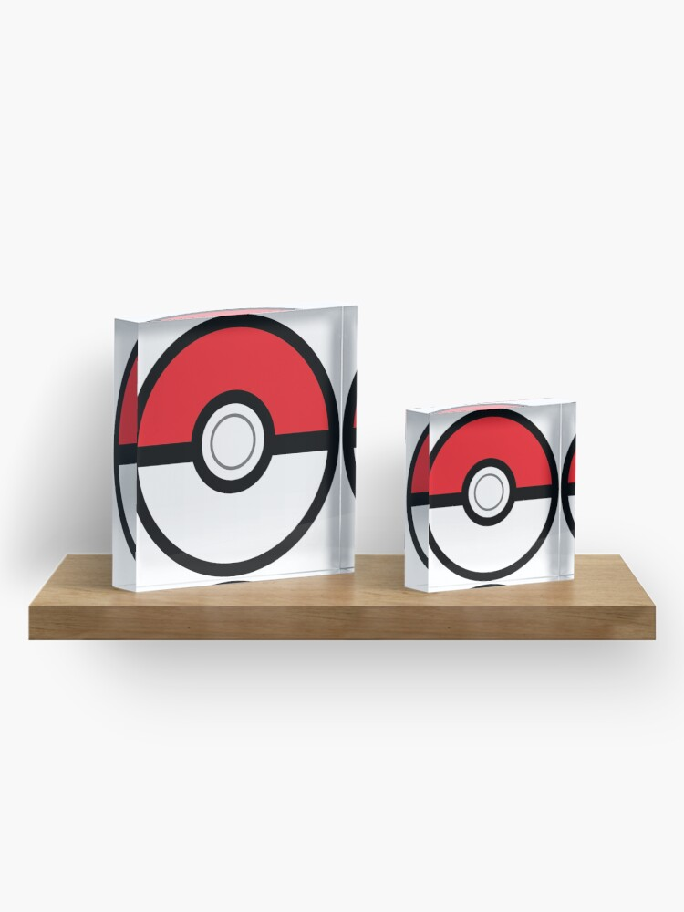Alternative Ansicht von Pokeball Acrylblock