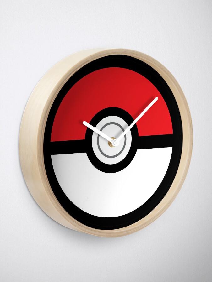 Alternative Ansicht von Pokeball Uhr