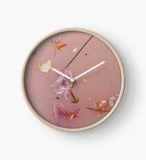Harry Styles - rosa Blumen Uhr