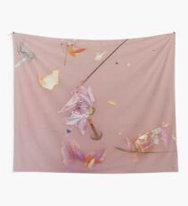 Harry Styles - pink flowers Wall Tapestry