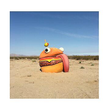 Durr Burger in the Desert Fortnite by eightyeightjoe