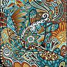 Topsy-Turvy Turtle by deRoodtDesigns