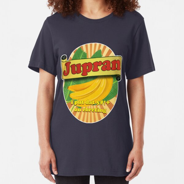 Banana Ketchup Slim Fit T-Shirt