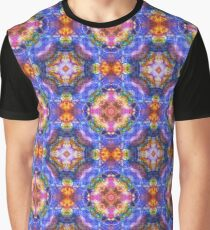 color artwork abstract colorful seamless repeat pattern Graphic T-Shirt