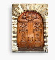 Spiritual door Canvas Print