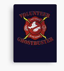 Volunteer Ghostbusters Canvas Print