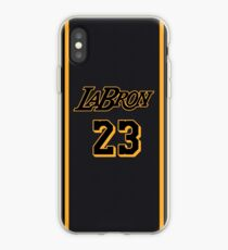 La Bron Jersey Script 4 iPhone Case