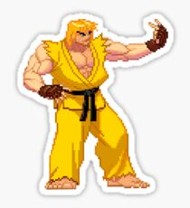 Street Fighter Third Strike - Yellow Ken Taunt Sticker